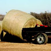 Bale Spike Mounted on Truck