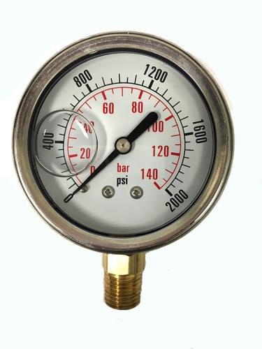 2000 Psi Pressure Gauge Cf1p 140a