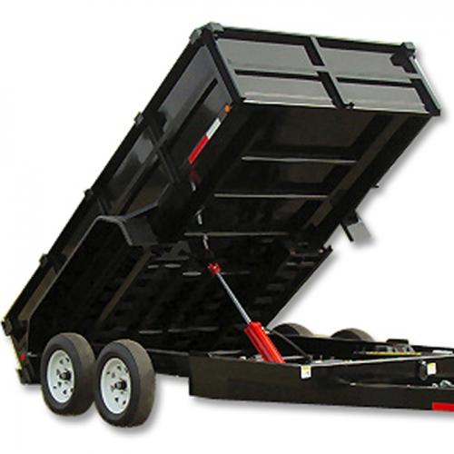 5 Ton Dump Hoist Kits : Ton trailer dump kit without hydraulic package