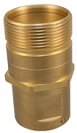 "3/4"" Wing Coupler, S511-6 Male Tip Half"