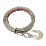 "Pierce Winch Cable, 5/16"" X 100' Standard Hook (PS0373)"