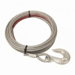"Pierce Winch Cable, 3/8"" X 100' Standard Hook (PS0363)"