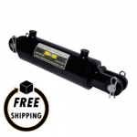 "3.5"" Bore X 04"" Stroke Welded Clevis Mount Cylinder"