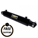 "3.5"" Bore X 24"" Stroke Welded Clevis Mount Cylinder"