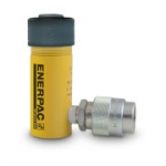 "Enerpac RC-51 Single Acting 5 Ton Cylinder, Alloy Steel, 1"" Stroke"