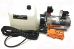 12 VDC Electric Over Hydraulic Single Acting Power Unit