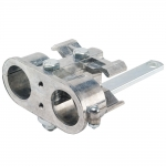 "Pioneer 9006-4 Double Breakaway Clamp for 1/2"" Body Size Quick Couplings"