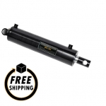 "2"" Bore X 20"" Stroke Welded Hydraulic Cylinder Pin Eye"