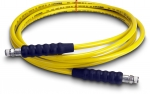 Enerpac High Pressure Hydraulic Hose H-7220, 20 ft. Yellow Thermo-Plastic, .25 in. Diameter