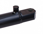 "2"" Bore X 14"" Stroke Welded Hydraulic Cylinder Tang, 3500 PSI"