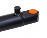 "2.5"" Bore X 12"" Stroke Welded Hydraulic Cylinder Tang, 3500 PSI"