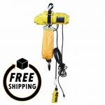1-Ton Pierce Chain Hoist with 20' Lift, PS65620