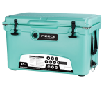 Pierce 45 Quart Roto-Molded Ice Chest Cooler, PCOOL-45