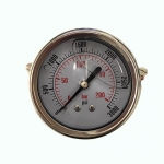 3,000 PSI Back Mount Pressure Gauge, CF1P-210B