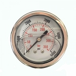 5,000 PSI Back Mount Pressure Gauge, CF1P-350D