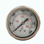 6,000 PSI Back Mount Pressure Gauge, CF1P-420D