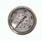 10,000 PSI Back Mount Pressure Gauge, CF1P-700D