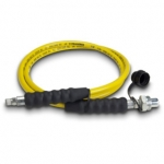Enerpac High Pressure Hydraulic Hose HC-7206Q, 6 ft. Yellow Thermo-Plastic, .25 in. diameter