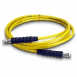 Enerpac High Pressure Hydraulic Hose H-7250, 50 ft. Yellow Thermo-Plastic, .25 in. diameter