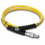 Enerpac High Pressure Hydraulic Hose HA-7206B, 6 ft. Yellow Thermo-Plastic, .25 in. diameter
