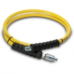 Enerpac High Pressure Hydraulic Hose HA-7206, 6 ft. Yellow Thermo-Plastic, .25 in. diameter