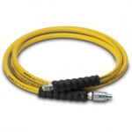 Enerpac High Pressure Hydraulic Hose HA-7210, 10 ft. Yellow Thermo-Plastic, .25 in. diameter