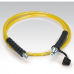 Enerpac High Pressure Hydraulic Hose HC-7206, 6 ft. Yellow Thermo-Plastic, .25 in. diameter