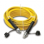 Enerpac High Pressure Hydraulic Hose HC-7250C, 50 ft. Yellow Thermo-Plastic, .25 in. diameter
