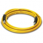 Enerpac High Pressure Hydraulic Hose H-7310, 10 ft. Yellow Thermo-Plastic, .38 in. diameter