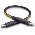 Enerpac High Pressure Hydraulic Hose H-9203, 3 ft. Heavy-Duty Rubber, .25 in. Diameter