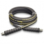 Enerpac High Pressure Hydraulic Hose H-9220, 20 ft. Heavy-Duty Rubber, .25 in. Diameter