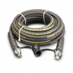 Enerpac High Pressure Hydraulic Hose HC-9206C, 6 ft. Heavy-Duty Rubber, .25 in. Diameter