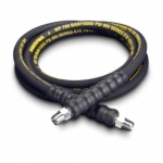 Enerpac High Pressure Hydraulic Hose H-9310, 10 ft. Heavy-Duty Rubber, .38 in. Diameter