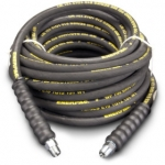 Enerpac High Pressure Hydraulic Hose H-9350, 50 ft. Heavy-Duty Rubber, .38 in. Diameter