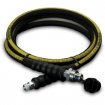 Enerpac High Pressure Hydraulic Hose HC-9308, 8 ft. Heavy-Duty Rubber, .38 in diameter