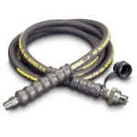 Enerpac High Pressure Hydraulic Hose HC-9310, 10 ft. Heavy-Duty Rubber, .38 in diameter