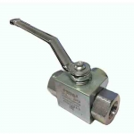 "3-Way High Pressure Ball Valve with 1"" SAE Ports, GE3SAE16"