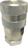 "Parker 1/2"" Hydraulic Non-Spill Quick Coupling, FF-501-8FP"
