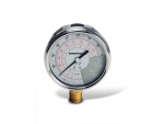 Enerpac GF-10P Hydraulic Force and Pressure Gauge, Glycerin Filled, For Use with 10 Ton Cylinders