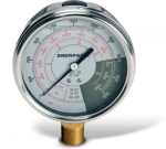 Enerpac GF-50P Hydraulic Force and Pressure Gauge, Glycerin Filled, For Use with 50 Ton Cylinders