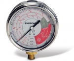 Enerpac GF-813P Hydraulic Force and Pressure Gauge, Glycerin Filled, For Use with all 20, 30 and 60 ton RCH, RRH, RWH Cylinders