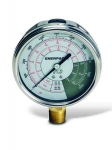Enerpac GF-510P Hydraulic Force and Pressure Gauge, Glycerin Filled, For Use with All 50 and 100 ton RCS, RSM Cylinders