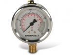 "Enerpac G2511L Hydraulic Pressure Gauge, 2.50"" Display Face, 200 PSI, Glycerin Filled"