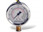 "Enerpac G2512L Hydraulic Pressure Gauge, 2.50"" Display Face, 300 PSI, Glycerin Filled"
