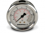 "Enerpac G2531R Hydraulic Pressure Gauge, 2.50"" Display Face, 1000 PSI, Glycerin Filled, Center Rear Mount"