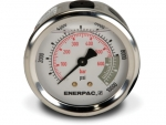 "Enerpac G2537R Hydraulic Pressure Gauge, 2.50"" Display Face, 10000 PSI, Glycerin Filled, Center Rear Mount"