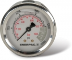 "Enerpac G2538R Hydraulic Pressure Gauge, 2.50"" Display Face, 15000 PSI, Glycerin Filled, Center Rear Mount"
