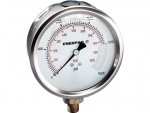 "Enerpac G4089L Hydraulic Pressure Gauge, 4"" Display Face, 15000 PSI, Glycerin Filled, Lower Mount"