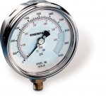 "Enerpac H4049L Hydraulic Pressure Gauge, 4"" Display Face, 10000 PSI, High Cycle, Glycerin Filled, Lower Mount"
