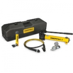 Enerpac SCR-106TB 10 Ton 6.13 in Stroke Hydraulic Cylinder and Hand Pump Set